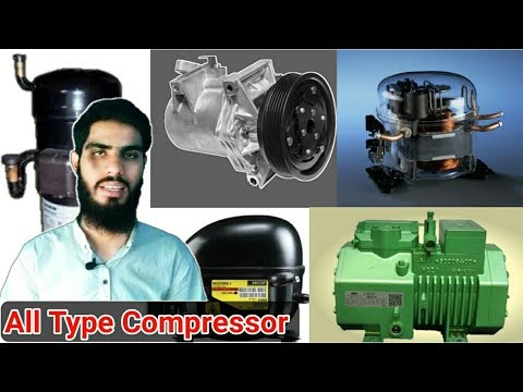 All type compressor of refrigeration and air conditioning information