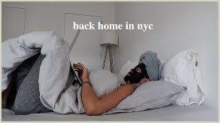 Back in NYC from Korea | Home Sweet Home, Late Night Food, Apartment Cleaning, Back to my Routine