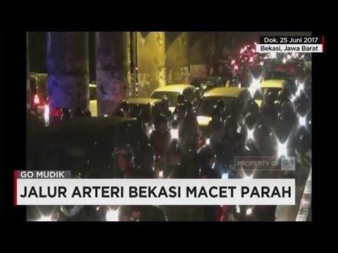 Jalur Arteri Bekasi Macet Parah - Go Mudik 2017 Mp3