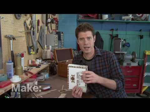 Maker Workshop - Cigar Box Guitar On Make: Television