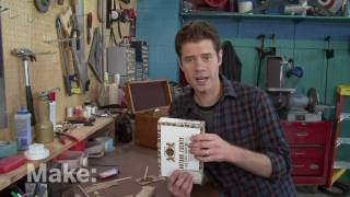 Maker Workshop - Cigar Box Guitar On Make: Television