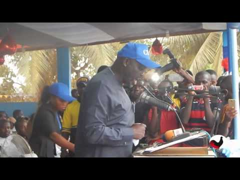 George Weah Accepts Nomination as Standard Bearer of the Coalition for Democratic Change