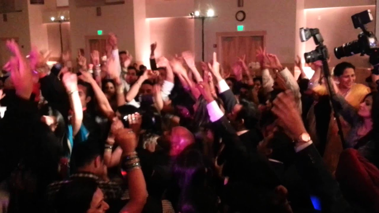 Punjabi Wedding Reception Dance Off March 31 2013