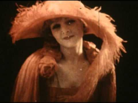 Silent movie actress Claire Windsor's Two Color screen test