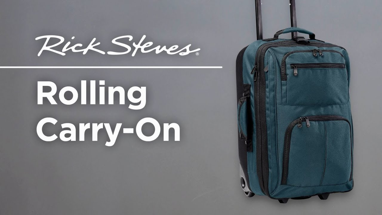 Rick Steves Rolling Carry On You