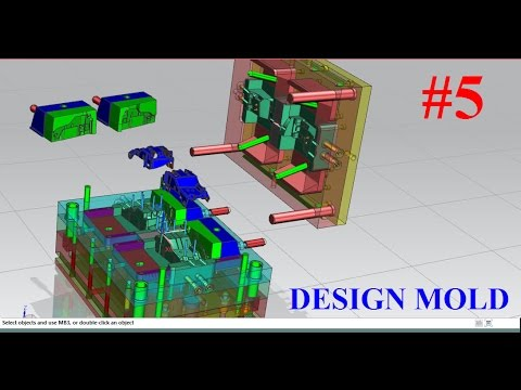 NX Mold wizard tutorial Part 5 : How to design Ejector Pin in nx