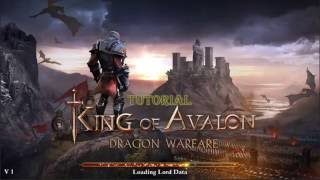 king of avalon english tutorial how to train your dragon