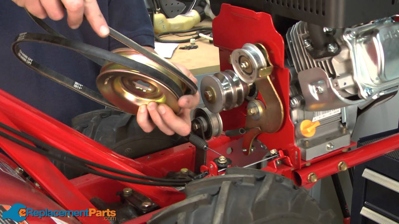 How to Replace the Forward Drive Belt on a TroyBilt Super