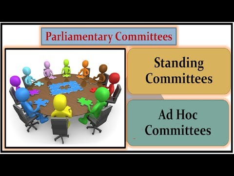 L- 146- स्थायी समितियाँ - Standing Committees | Permanent Committees | Parliamentary Committees