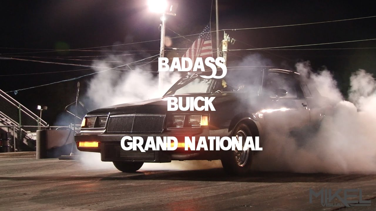 bad ass 9 second twin turbo buick grand national street. Black Bedroom Furniture Sets. Home Design Ideas