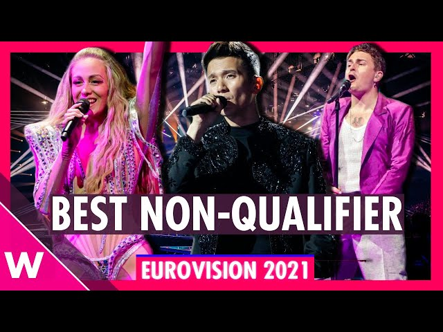 Eurovision 2021: Semi-Final Non-Qualifiers - Our Top 3 favourites