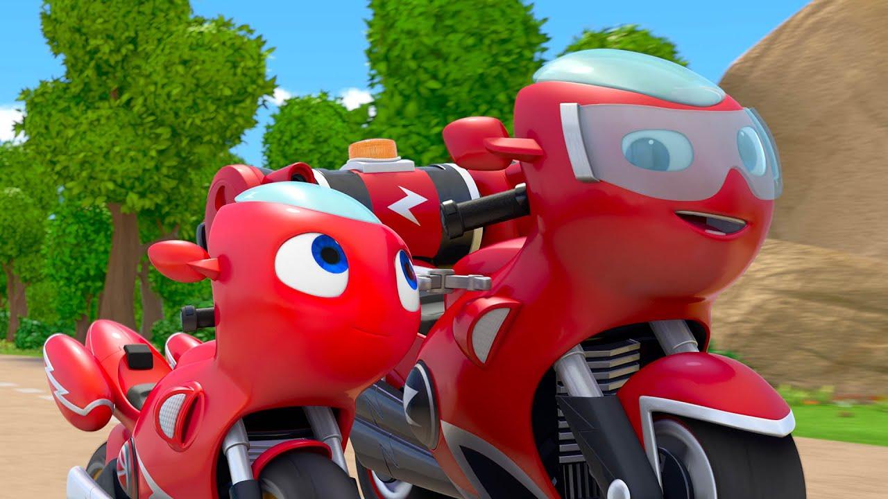 Ricky Zoom Full Episode 1x10 | Ricky's Role Model | Cartoons for Kids