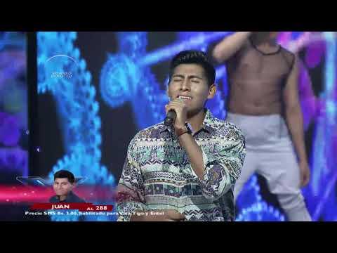 Juan y su gran presentación  | Éxitos en ingles| Factor X Bolivia 2018