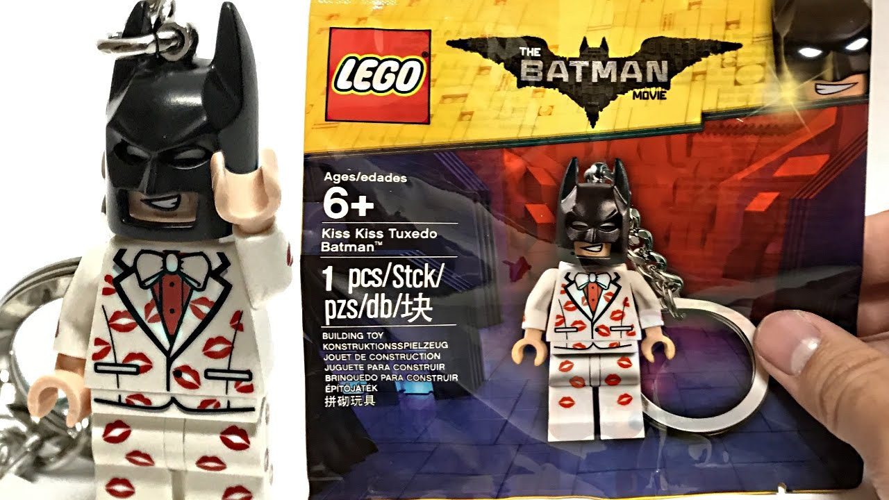 Lego Batman Movie Kiss Kiss Tuxedo Batman 5004928 RETIRED *SEALED*