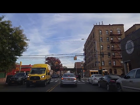 Driving from Long Island City to Astoria Queens,New York