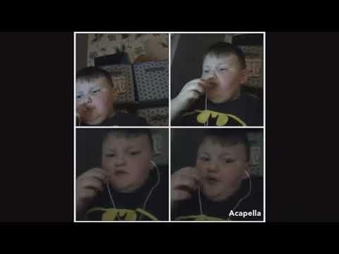 Kid sings Africa  Toto acapella fuller version