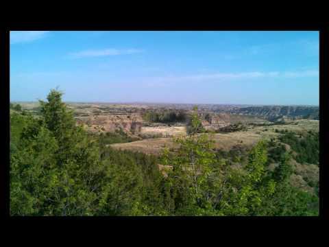 Western North Dakota Scenery