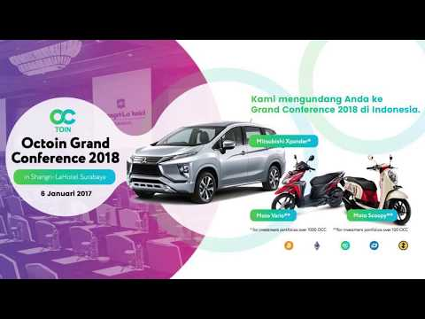 Promo Global Conference in Indonesia   HURRY UP REGISTER TRADING MINING CRYPTOCURRENCY 2018