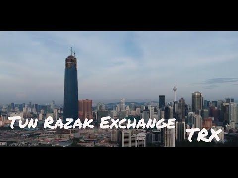 Aerial Shots of Tun Razak Exchange, Kuala Lumpur