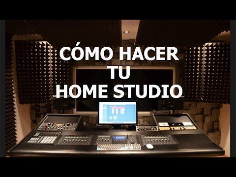 Cómo hacer tu Home Studio - 6 elementos vitales para producir
