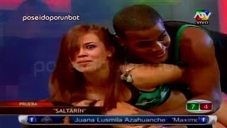 Repeat youtube video COMBATE: Lisset Lanao Mete la Mano a la Pantera Zegarra 12/04/13