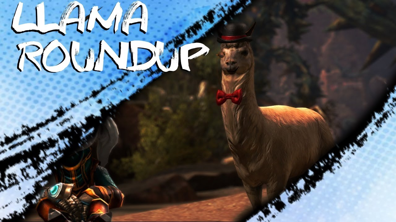 Gw2 Llama Roundup Guide All Llama Locations And Jumping Puzzle
