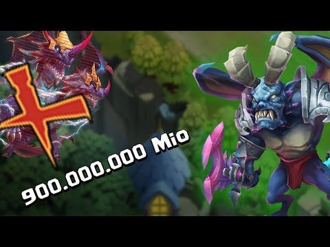 Castle Clash - Archdemon Eyecatcher F2P Heroes NO Demogorgon 949M Damage