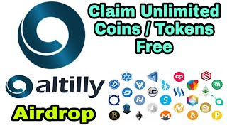 Claim Free Unlimited Tokens / Coin from Altilly Exchange wallet | Free Faucets | My Crypto Diary