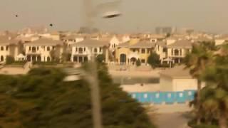 Dubai Monorail Experience (Palm jumeirah-Atlantis Hotel)