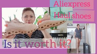 Unboxing  Shoes Haul AliExpress