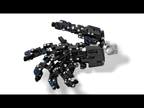 lego technic robotic hand 3 moc lego technic mastery. Black Bedroom Furniture Sets. Home Design Ideas