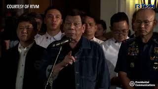 Duterte to errant cops: 'Wala kayong silbi, salot kayo'