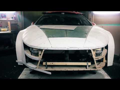 Mitsubishi ECLIPSE 5G or diy concept RA | p4. Plastic armor of the body kit.
