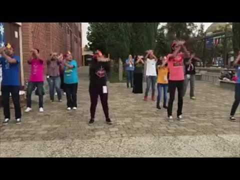 Coreografía del Jubileo de Oro de la RCCES 50 años -flashmob-