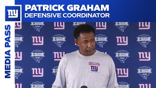 Patrick Graham on Slowing Down Cowboys Offense | New York Giants