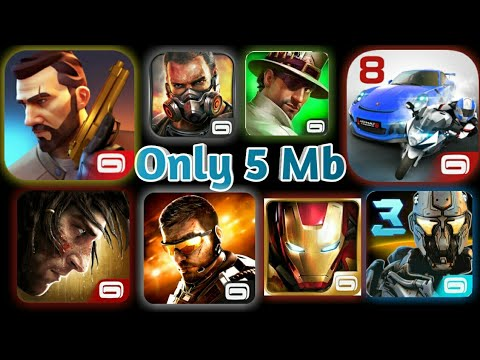 [5MB] Download All Gameloft Games For Free