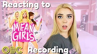 Reacting to MEAN GIRLS THE MUSICAL