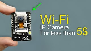 Cheap Wi-Fi IP Surveillance Camera (Very little DIY needed)