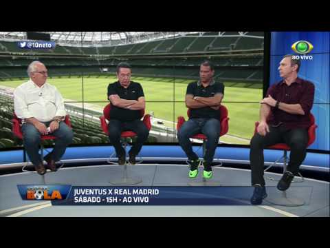 Comentaristas Palpitam Sobre Juventus X Real Madrid