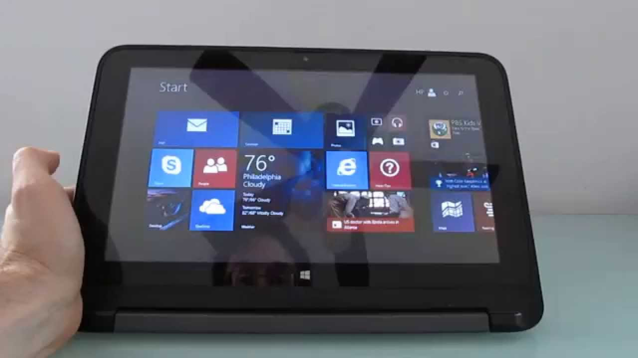6437492f9e2c HP Pavilion x360 tablet/notebook review - YouTube
