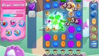 Candy Crush Saga Level 725 NO BOOSTERS no timed level