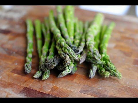 Parmesan Asparagus Fries with Lemon Garlic Aioli - YouTube