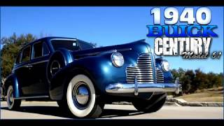 1940 Buick Century Model 61 Sedan FOR SALE