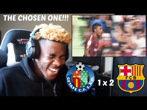 GETAFE 1 X 2 BARCELONA - THE HERO PAULINHO!! - HIGHLIGHTS & GOALS 16/09/2017 ⚽🏅 | Reaction