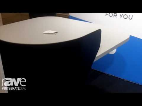 Integrate 2016: Lectern Hub Features Customizable Lectern With Wheelchair Compatability