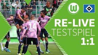 VfL Wolfsburg - Hamburger SV 1:1   Re-Live   Testspiel