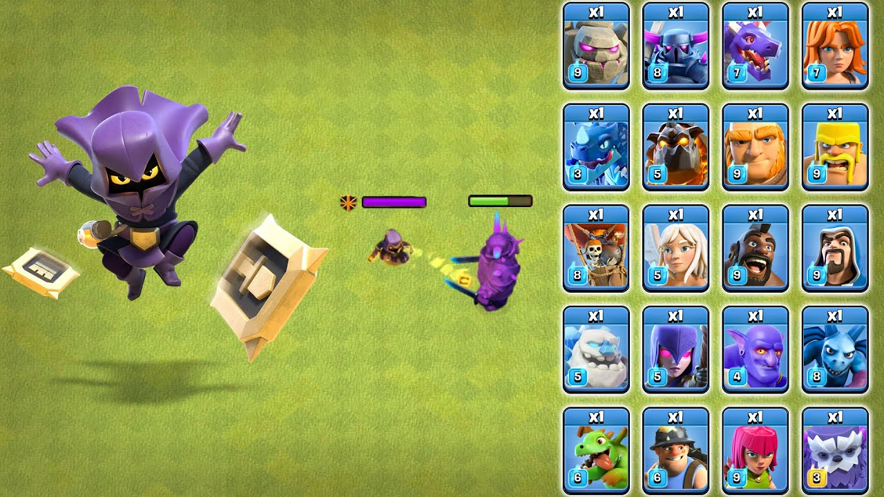 Download Headhunter vs All Troops Clash of Clans | Head Hunter Attack COC