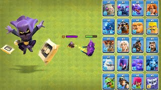Headhunter vs All Troops Clash of Clans | Head Hunter Attack COC