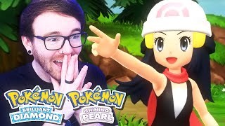 BRILLIANT DIAMOND, SHINING PEARL & POKEMON LEGENDS! • POKEMON PRESENTS LIVE REACTION!