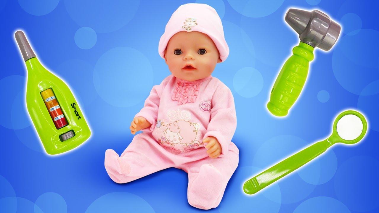 Os brinquedos para hora do banho! Aprendendo a ser mamãe. Historinha com a boneca Baby Born